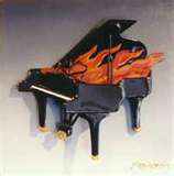 Flaming Piano